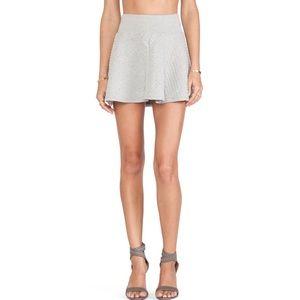 Soft Joie Kaydree B Skirt in Heather Grey
